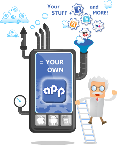 Contrapption - Apps for your business and brand